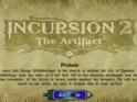Jogo de Estratégia Incursion 2 - The Artifact