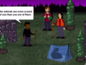 Jogo de Terror The Visitor - Massacre at Camp Happy
